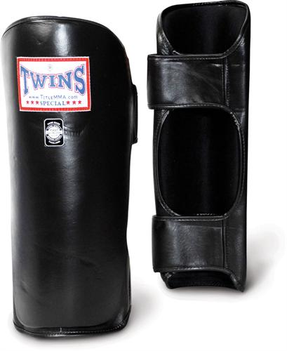 Twins Twins Leather Shin Guards